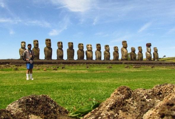 Día 04 Isla de Pascua: Tour Full Day (Rano Raraku – Tongariki)