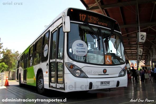 Transantiago | Marcopolo Gran Viale – Scania K230B (Biódiesel)