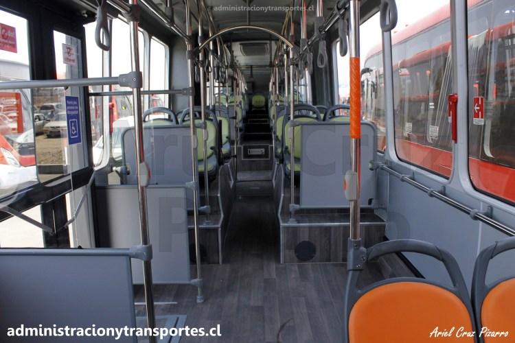 Transantiago | Marcopolo Torino - Mercedes Benz O500UA / LCST80