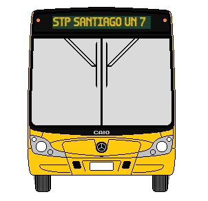 Recorrido F05 Santiago