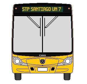 Recorrido F20 Santiago