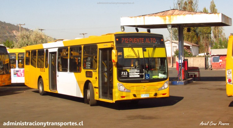 Bus de STP en el terminal Los Tilos