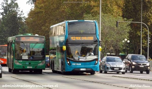 Completa evaluación Bus 2 Pisos Transantiago