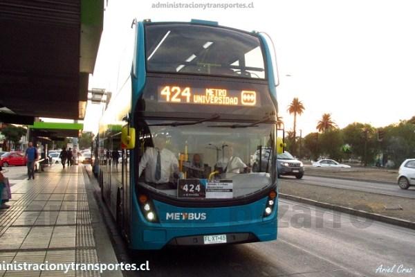 Transantiago | Alexander Dennis Enviro 500 en Chile