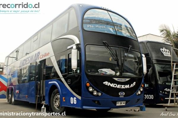Especial de los buses Metalsur Starbus 2 de Andesmar Chile