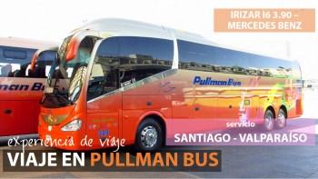 Viaje en Pullman Bus Costa Central 349, Santiago a Valparaíso