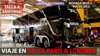 Viaje Talca Paris Londres