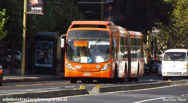 VIDEO ESPECIAL: Viaje en bus articulado Transantiago por servicio 427 y más
