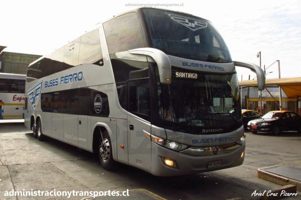 Ando en Bus | Viaje en Buses Fierro HRXG69 desde Puerto Montt a Santiago