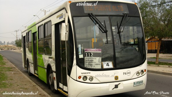 Busscar Urbanuss Pluss Volvo Transantiago