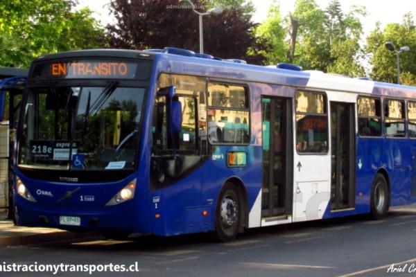 Buses Caio Millenium B2P Transantiago