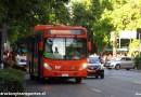 Los nuevos buses Euro 6 de Transantiago y cómo verlos