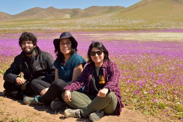 Visita al Desierto Florido vía Caldera con mis amigas