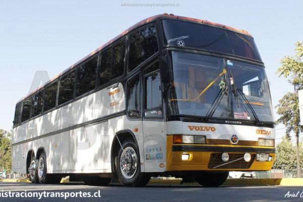 FOTOS: Notable ex Tas Choapa 188, bus Marcopolo Paradiso GV1150 – Volvo