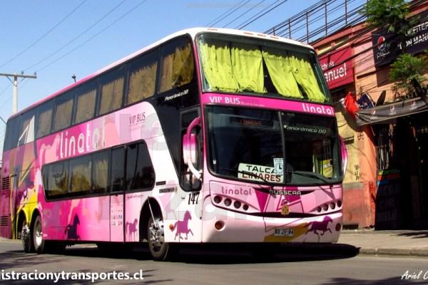 EV: Viaje en Linatal 147, desde Linares a Santiago