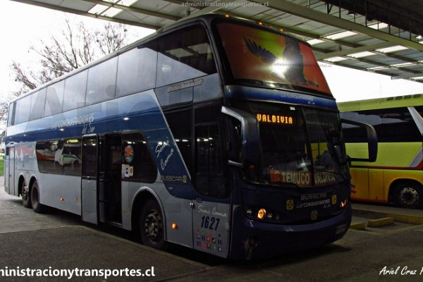 EV: Viaje en Los Conquistadores del Sur 1627, Valdivia a Santiago