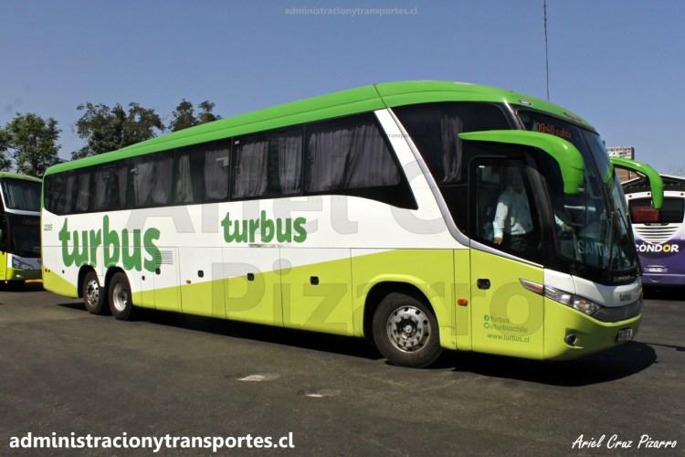 Tur Bus 2285, uno de los Marcopolo Paradiso 1200 - M. Benz de la empresa