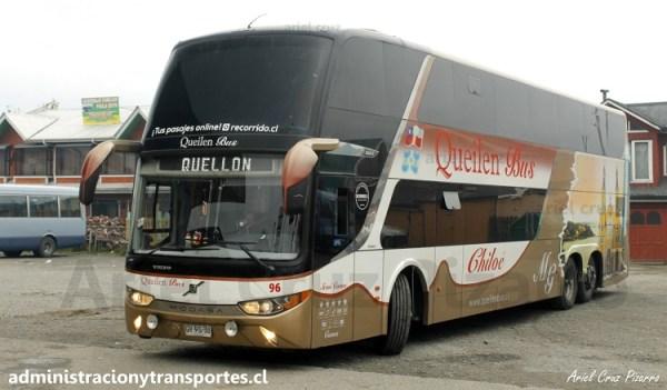 EV: Queilen Bus en viaje Puerto Montt – Castro, Modasa Zeus 3