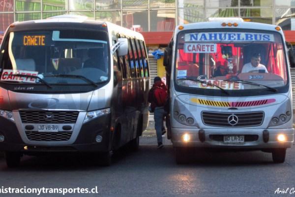 ¡Muchas fotografías! Aquí verás los buses rurales de Cañete