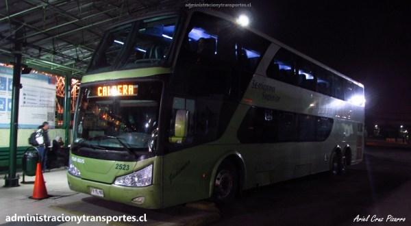 EV: Viaje en TurBus 2523 desde Santiago a Caldera