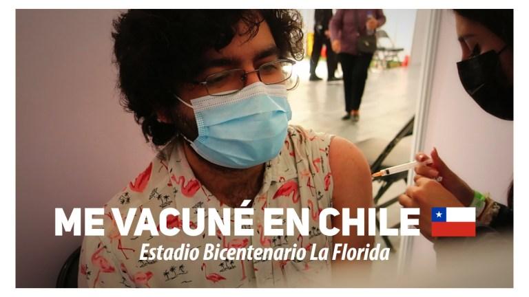 Vacunación en Chile Ariel Cruz