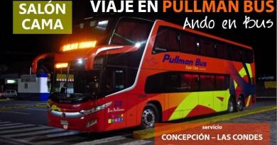 Ando en Bus | Viaje Pullman Bus 3178, Concepción a Santiago