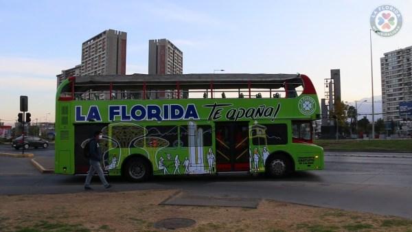 Buses Gratis Municipalidad de La Florida