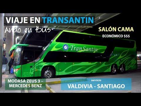 EV: Viaje en Transantin KPPY16 Salón Cama, Valdivia a Santiago