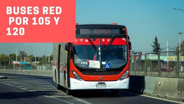 Recorrido 105 Santiago