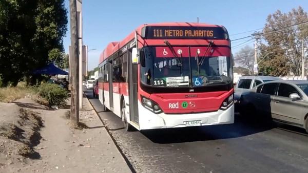 Recorrido 111 Santiago