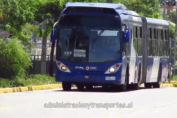 Recorrido 209 Santiago