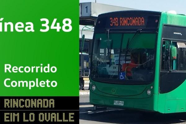 Recorrido 348 Santiago