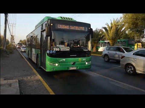 Recorrido 350 Santiago
