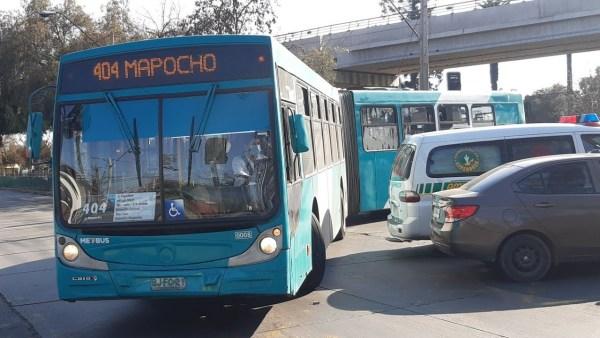 Recorrido 404 Santiago