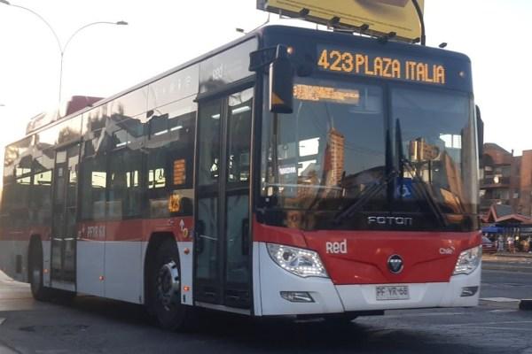 Recorrido 423 Santiago