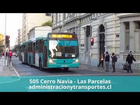 Recorrido 505 Santiago