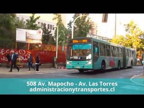 Recorrido 508 Santiago