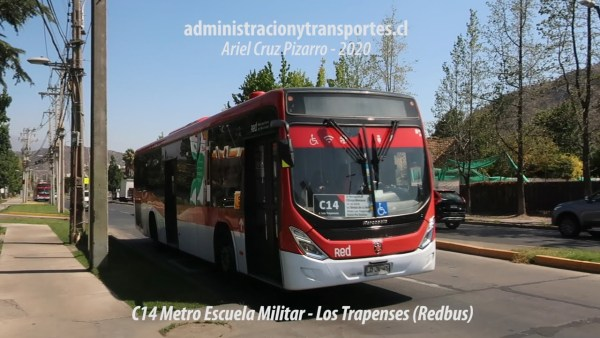 Recorrido C14 Santiago