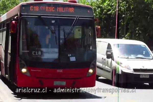 Recorrido C18 Santiago