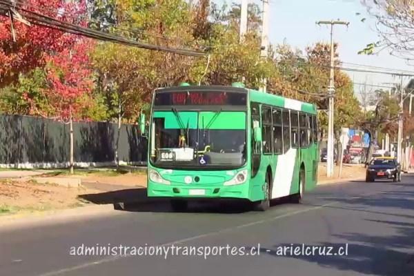 Recorrido E08 Santiago