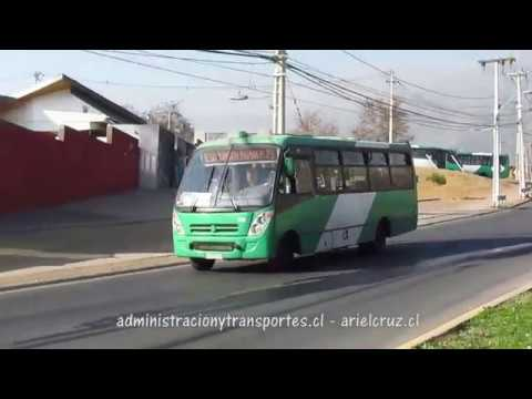 Recorrido E10 Santiago