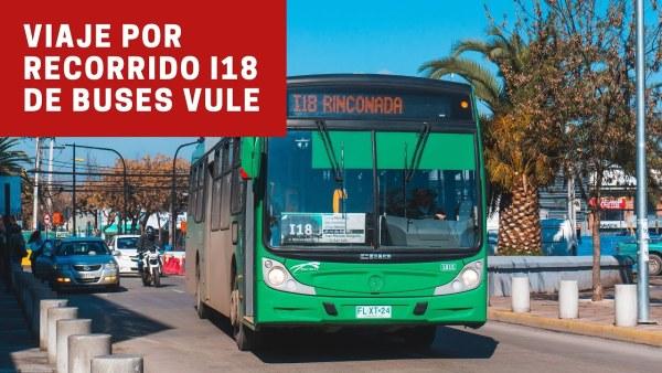 Recorrido I18 Santiago