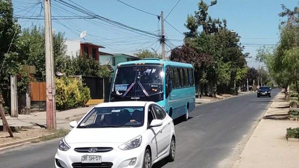 Recorrido MB81 Santiago