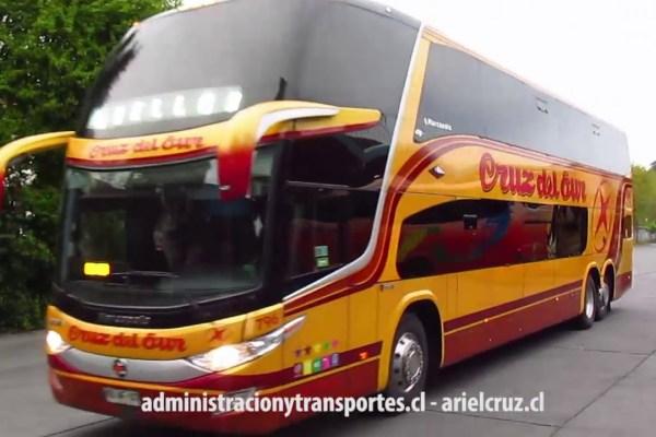 [Video] Amable tripulación de Buses Cruz del Sur 796 en Concepción