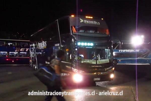 [VIDEO] Unidad de Prime Bus en servicio Salón Cama Santiago – Pucón