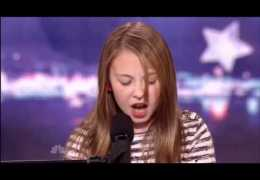 Anna Graceman, 11 Years Old, Piano Singer