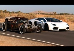 Rat Rod vs Lamborghini
