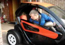 Renault Twizy electric car registered as motorbike