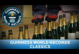 Guinness World Records Day 2013 – Most Bottles Walked On