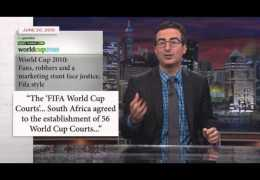 Tonight with John Oliver: FIFA and the World Cup (HBO)